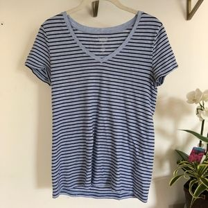 GAP Favorite Striped Blue T-shirt
